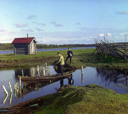 Kuva: Sergei Prokudin-Gorsky / Ostrecheny, 1909. Prokudin-Gorskii Collection, Library of Congress.