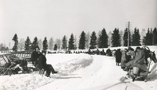 Muolaan evakkoja talvisodan aikana